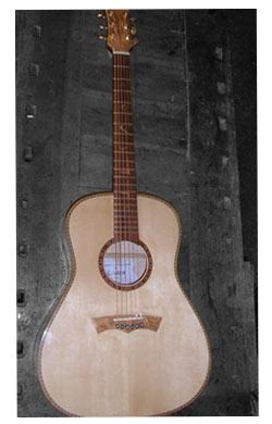 chitarra acustica tino-acero