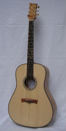 chitarra acustica tino olivo 25°